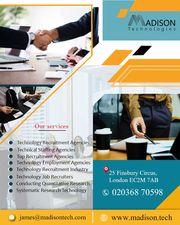 Technology Recruitment Agencies London | Madison Technologies